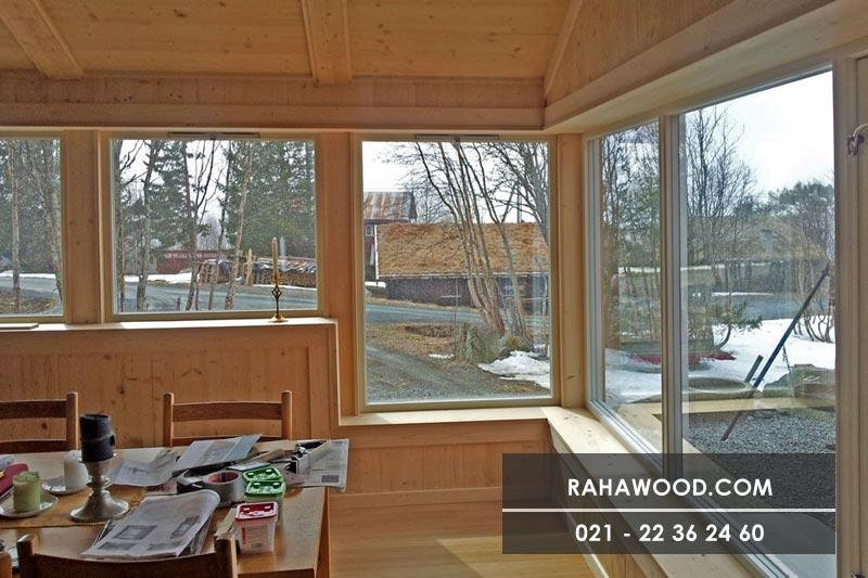 فروش چوب نمای ساختمان