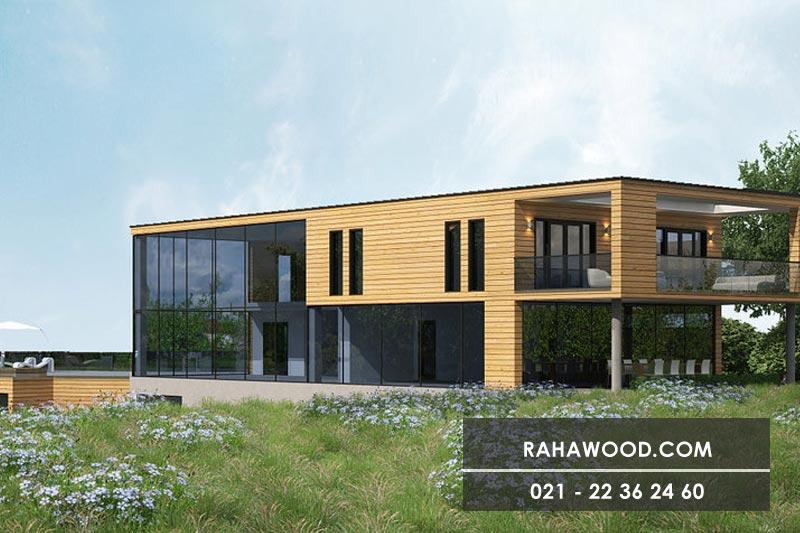 آیا ترموود یرای نمای چوبی داخل خانه مناسب است ؟