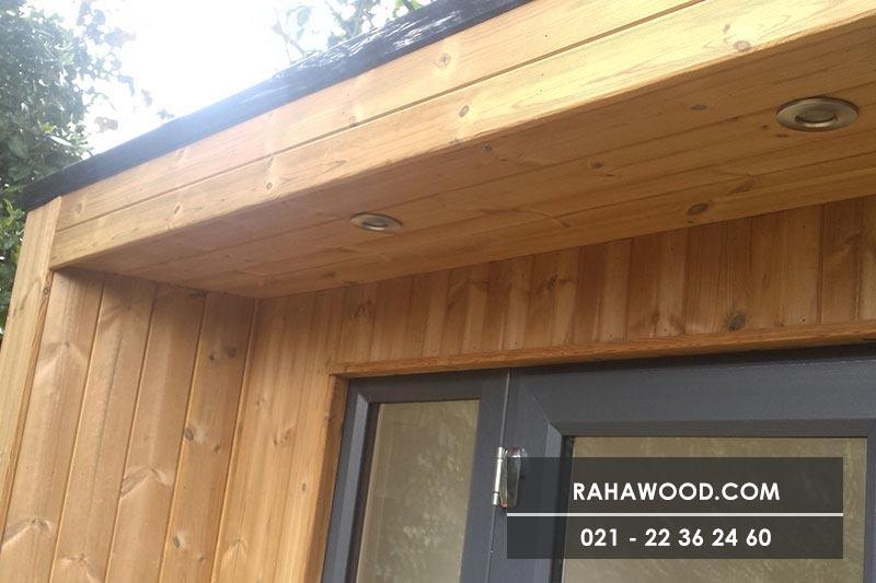 ایجاد نمای چوبی دیوار با ترموود