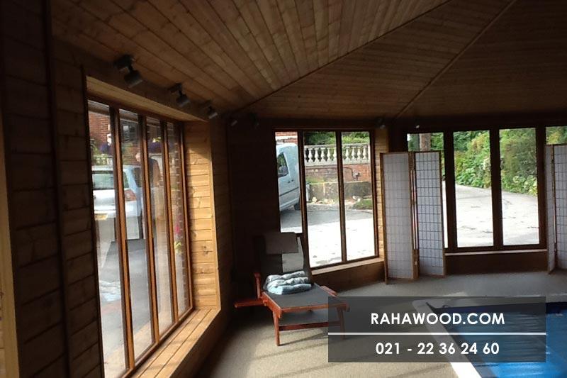 طراحی دیوار چوبی متحرک برای منزل