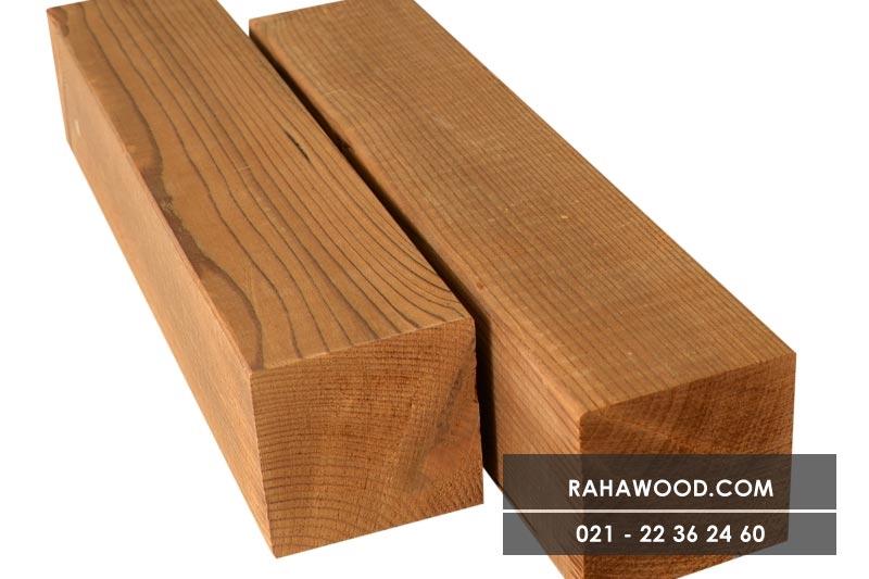 طراحی نمای چوبی داخل خانه با چوب طبیعی