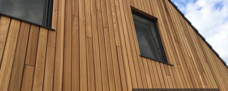 مدل های نمای چوبی دیوار با استفاده از ترموود