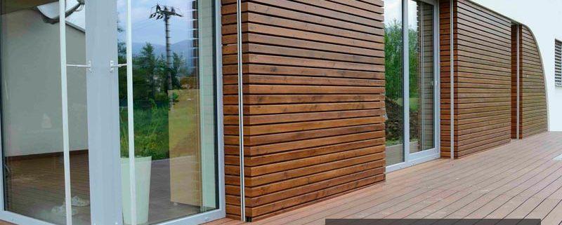 نمای چوبی ترموود برای داخل خانه ها