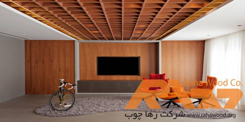 سقف نما چوب و کاربرد آن در دکوراسیون داخلی