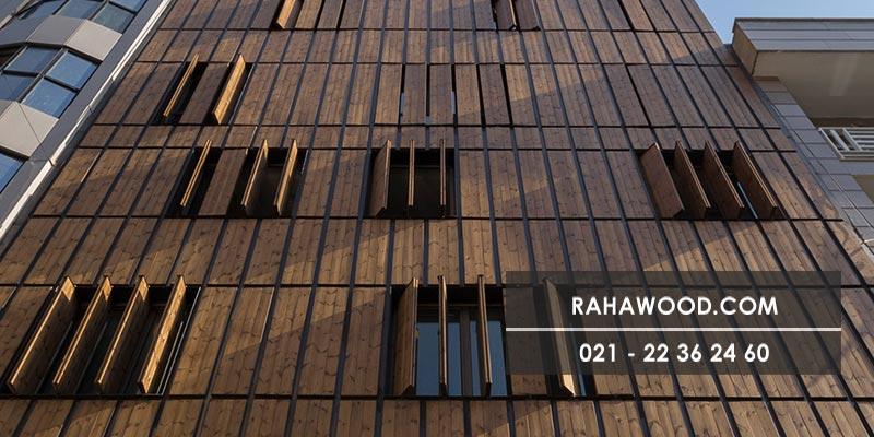 ترموود بهترین گزینه برای نمای چوبی ساختمان